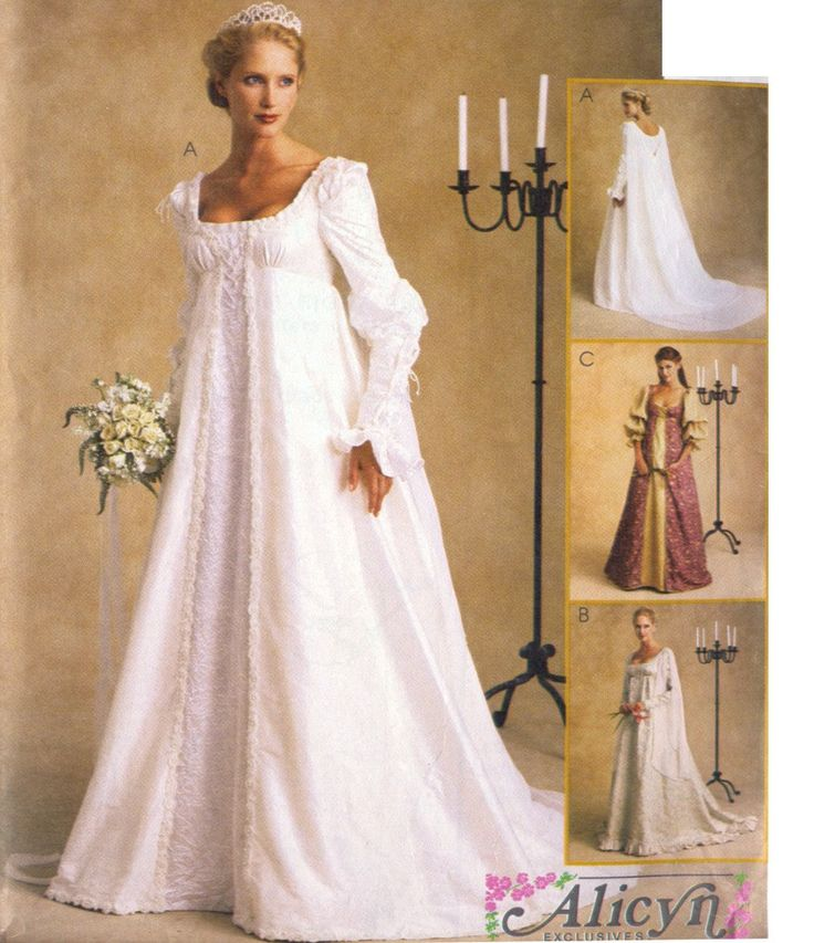 Princess Buttercup Wedding Dress