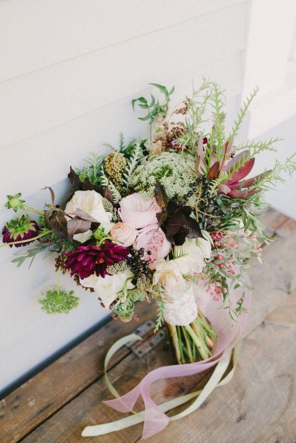 Rustic Wedding Bouquets - Wedding Photography