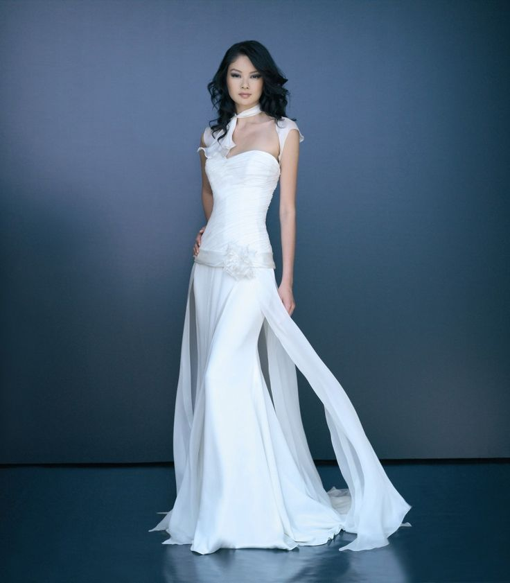 Wedding dress with pants for Dress pant outfits for wedding