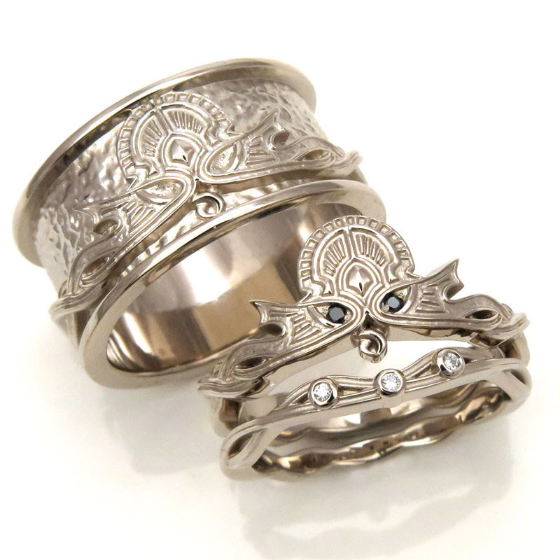 17 wedding bands to blow your dudes mind popular viking wedding rings - Norse Wedding Rings