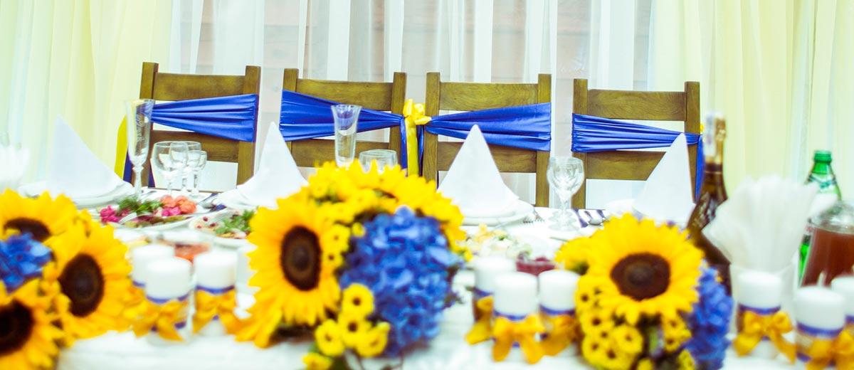 Sunflower wedding theme 18 sunflower wedding decor ideas junglespirit Gallery