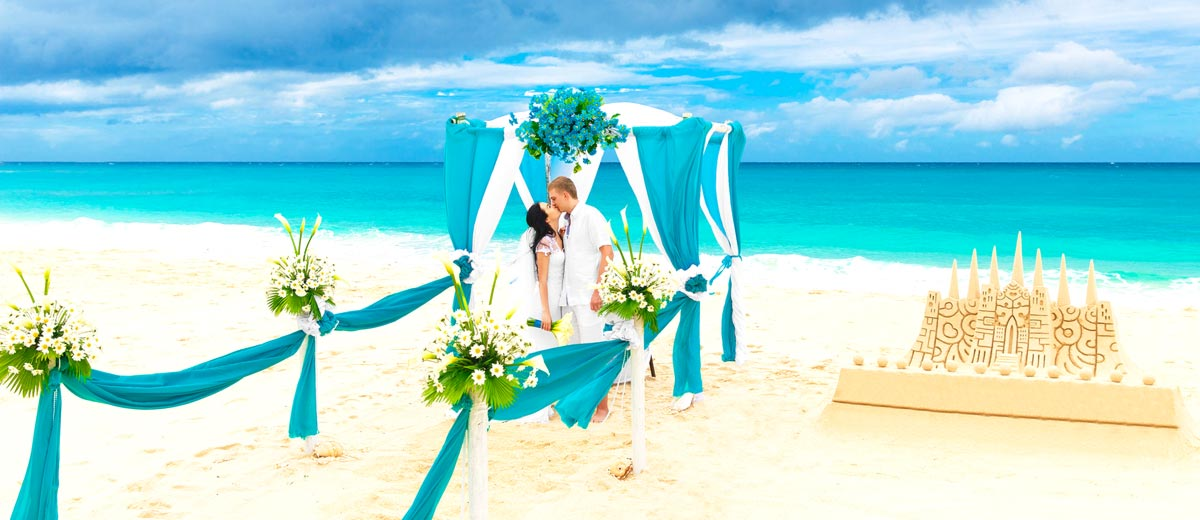 wedding beach ideas decoration teal wedding ideas 8428