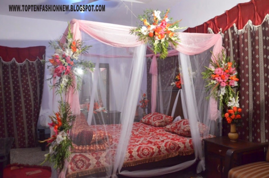 29 Beautiful Bedroom Decoration For First Night 2016 17