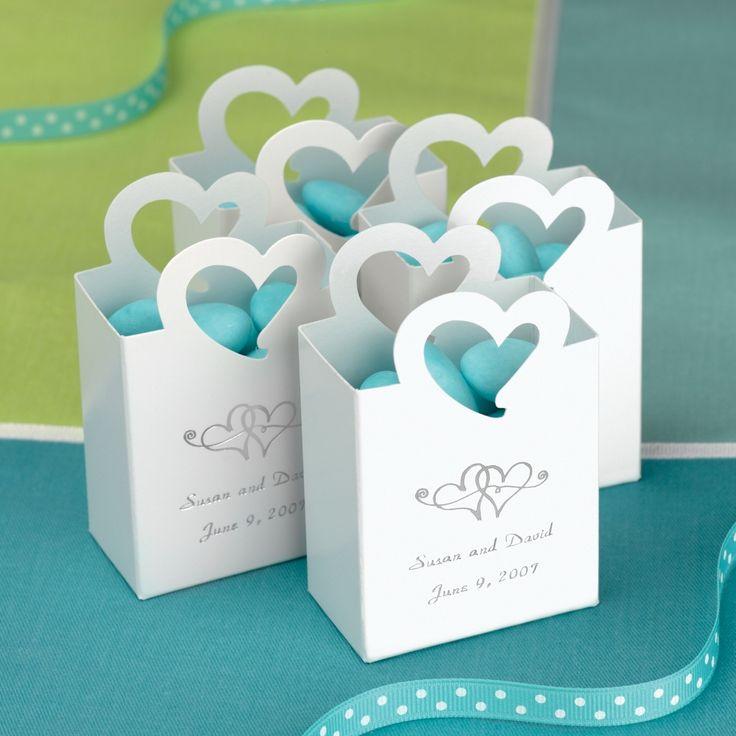 Teal Wedding Favors Wedding Decor Ideas