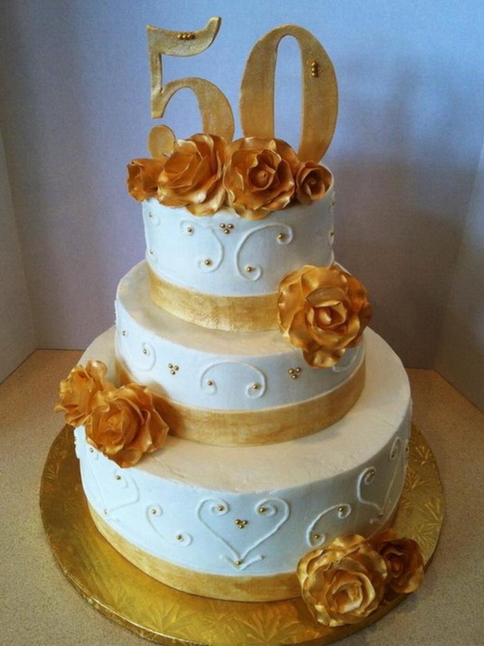 Tier Th Anniversary Cakes