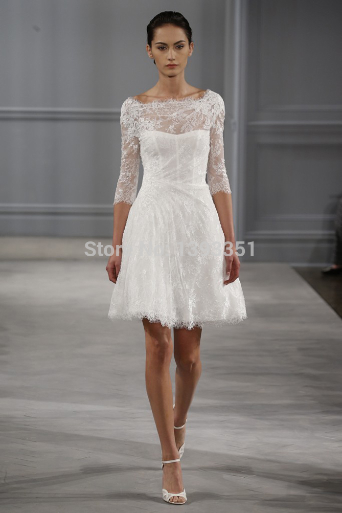Country Bridesmaid Dresses White Short