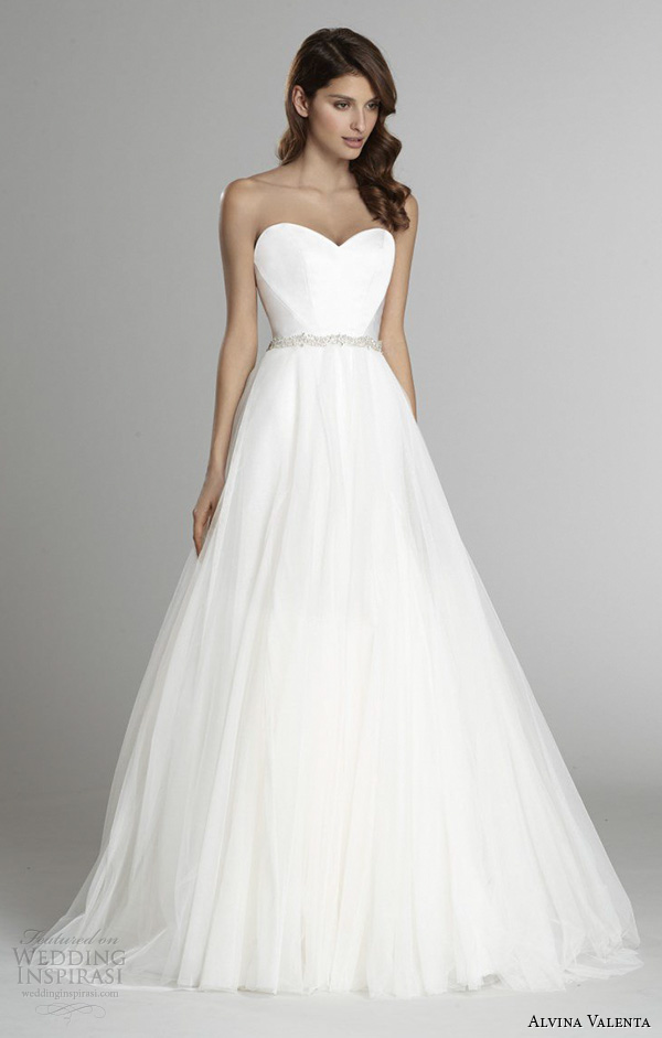 Alvina Valenta Fall 2017 Wedding Dresses