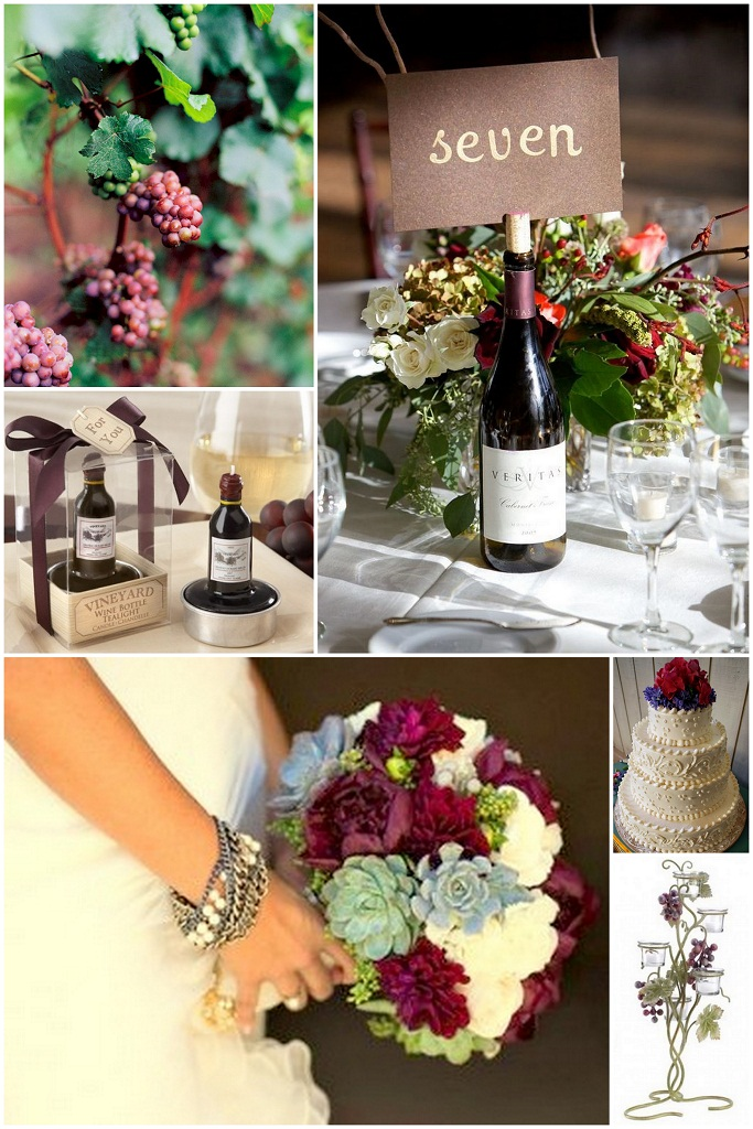 wine wedding theme ideas. Black Bedroom Furniture Sets. Home Design Ideas