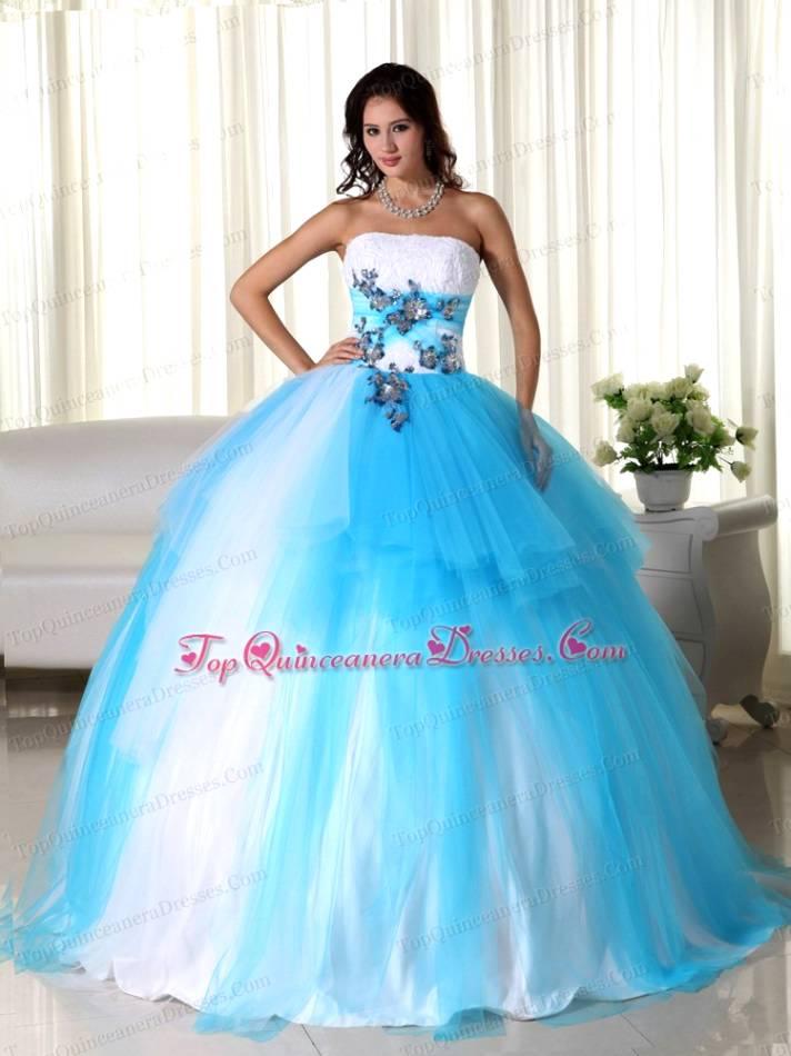 Aqua Blue And Silver Wedding Dresses Wedding Dresses Aqua Blue ...