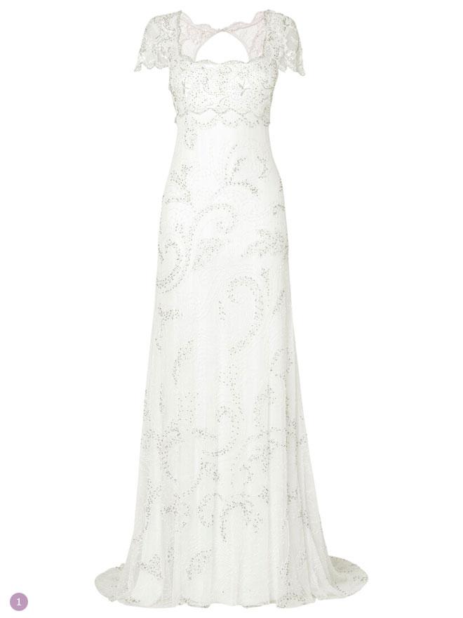 Regency style wedding dress for Regency style wedding dress