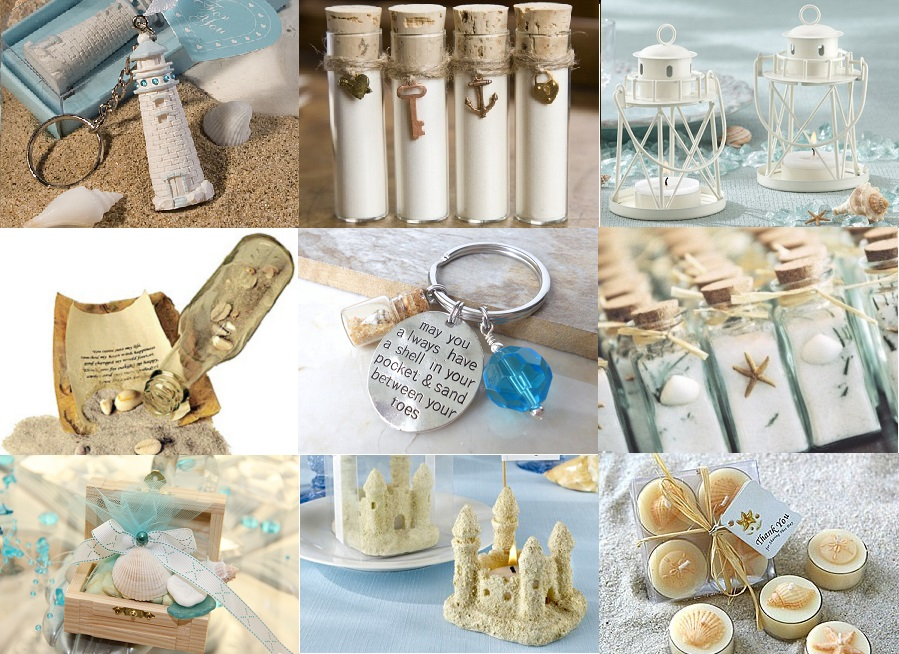 Beach Inspired Wedding Favors Fashion Dresses