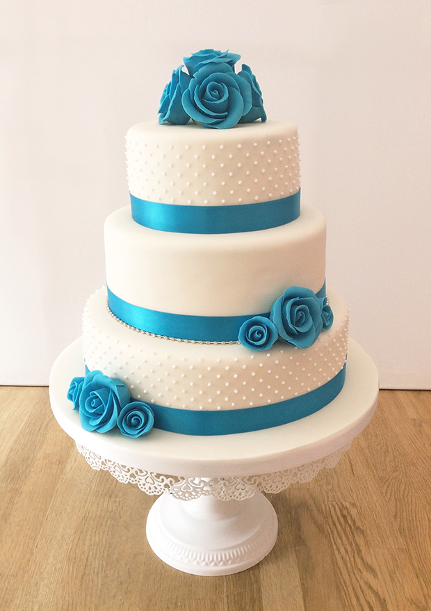 3 Layer Wedding Cake