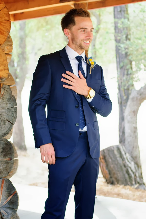 Navy Blue Wedding Suits