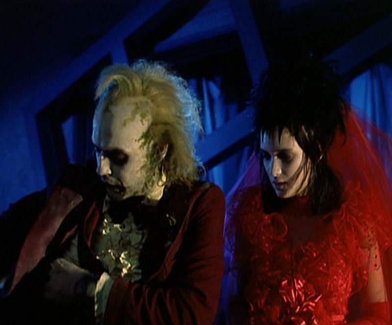 Red Wedding Dress Beetlejuice