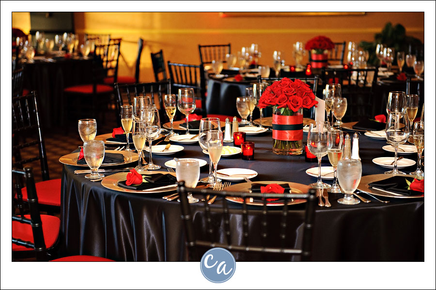 Red and black wedding decorations junglespirit Choice Image