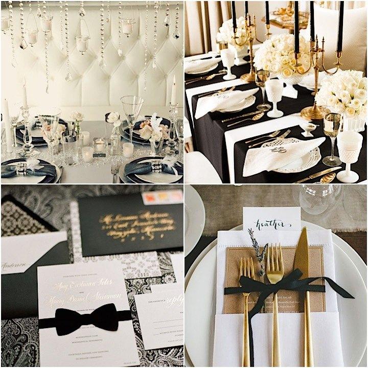 Black Tie Wedding Ideas That Dazzle – Emasscraft.org