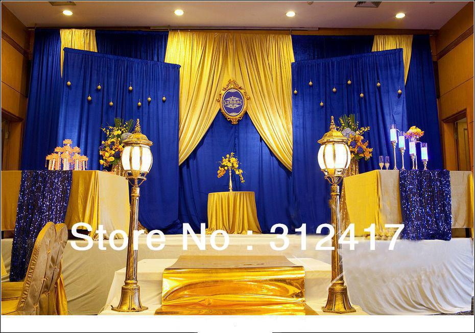 Blue And Yellow Wedding Table Decorations Royal Emcraft Org