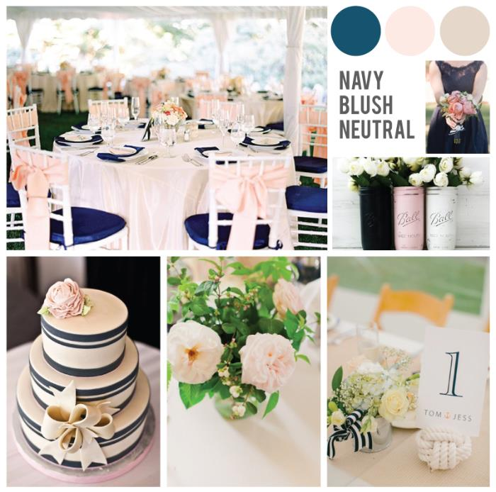 Bm Dress Colors To Go With Blush Wedding