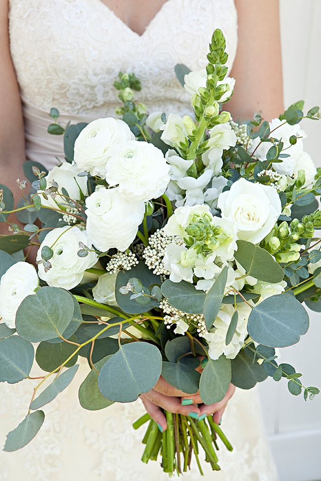 Eucalyptus Wedding Bouquet