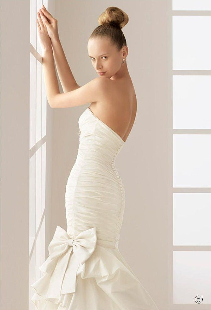 Wedding Dresses with Bows