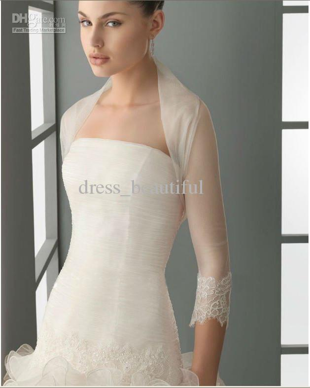 Add sleeves to strapless dress wedding ideas for Adding sleeves to a wedding dress