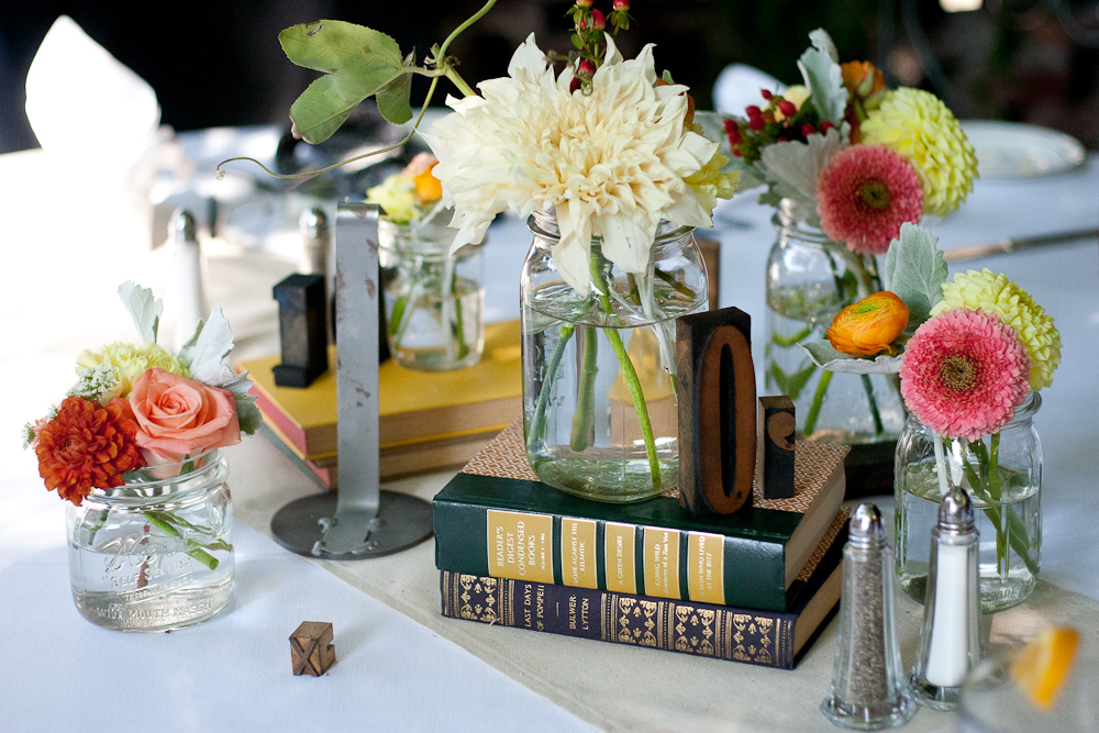 Wedding Centerpieces Books Image Collections Decoration Ideas