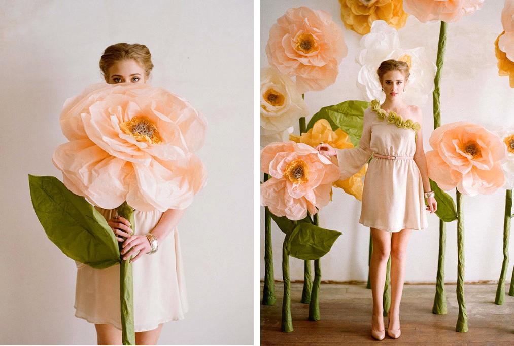 paper flower weddings - Dorit.mercatodos.co