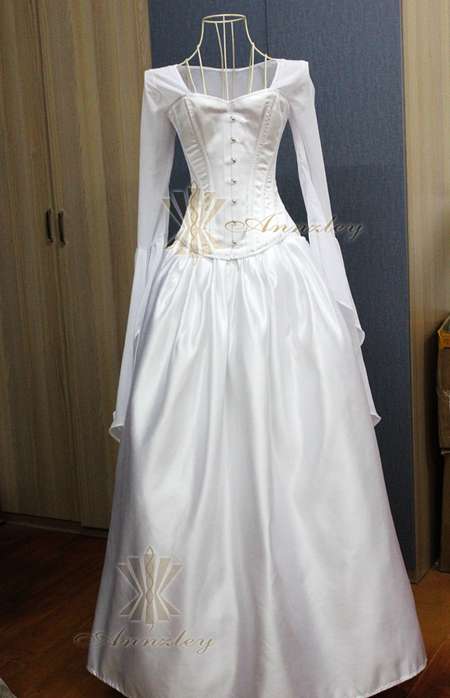 Beautiful Gothic Wedding Dress