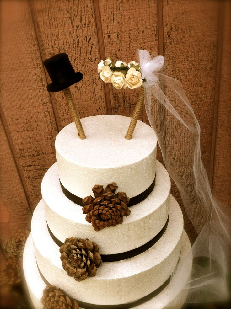 Country Wedding Cake Toppers