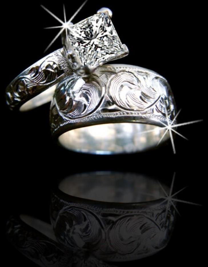 Western Wedding Rings