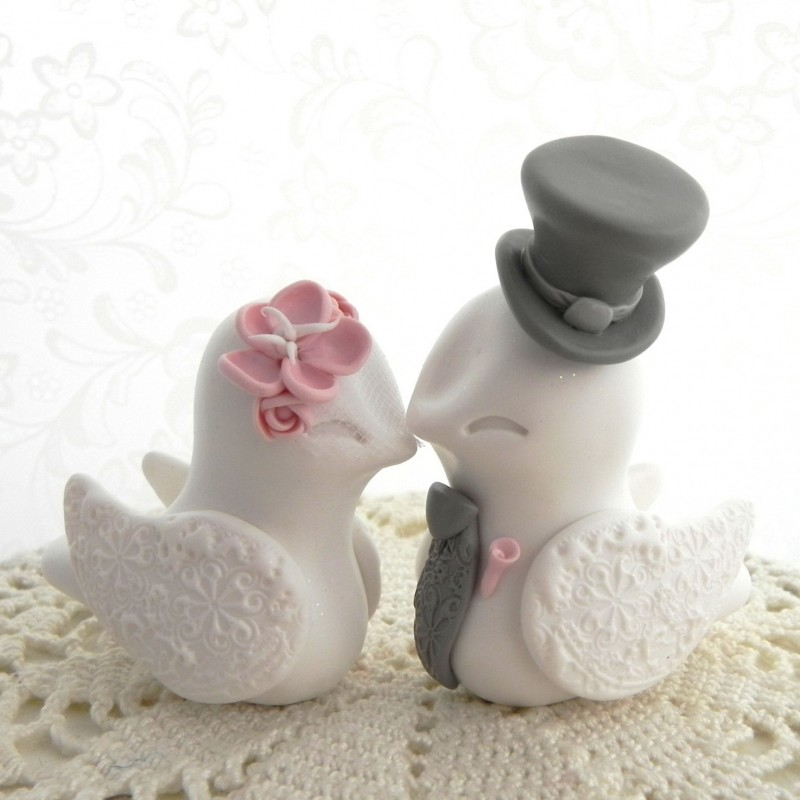 love bird wedding cake topper bird wedding cake toppers 5607