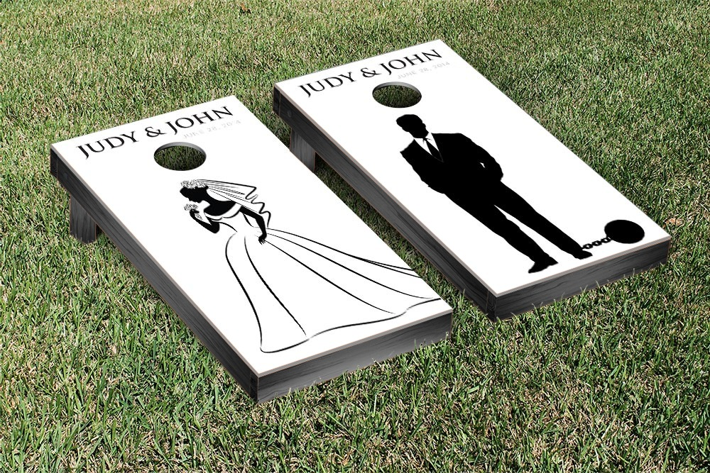 Beautiful Wedding Corn Hole Boards Pictures - Styles & Ideas 2018 ...