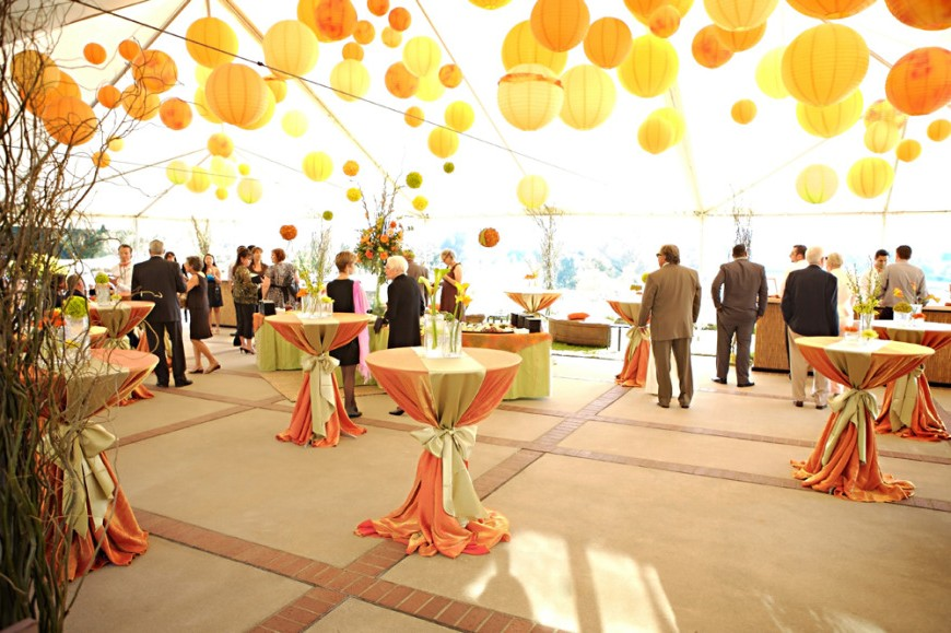 Paper lanterns wedding decoration ideas junglespirit Gallery