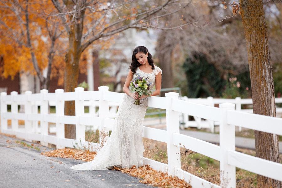 Fall Outdoor Wedding Dress