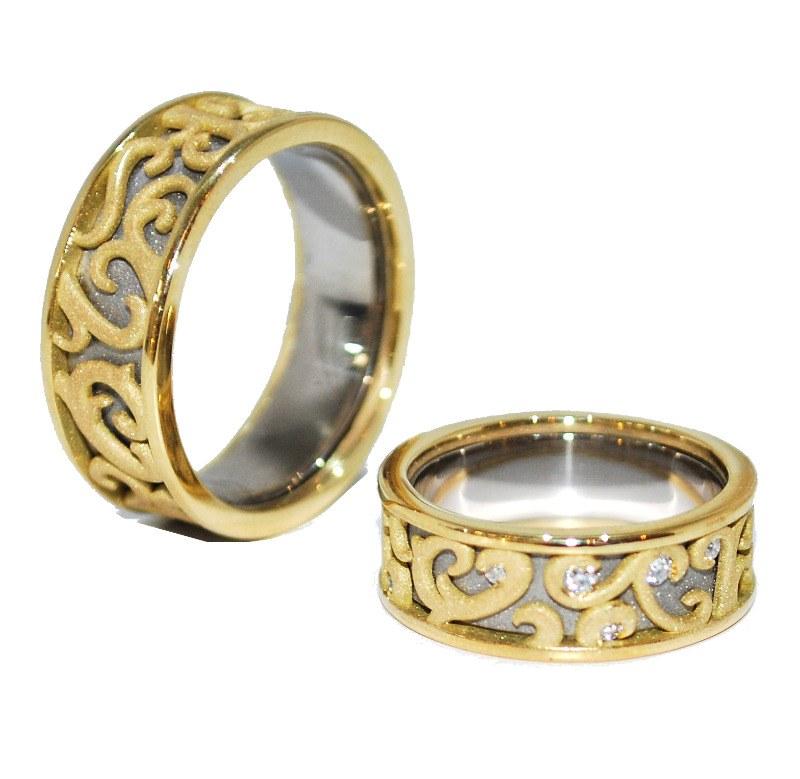 Wedding Rings Unusual Design