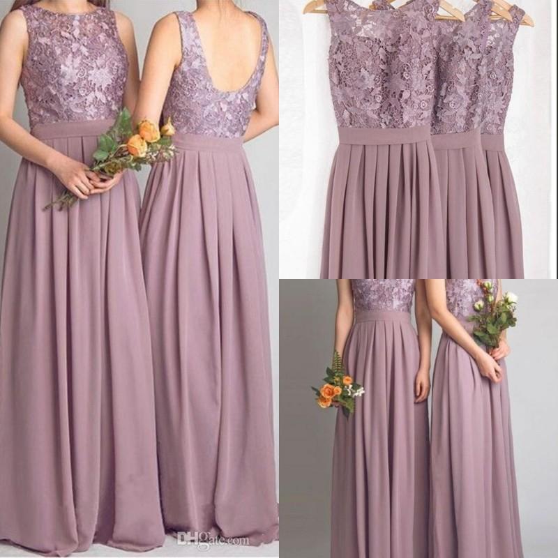 Mauve Dress Wedding