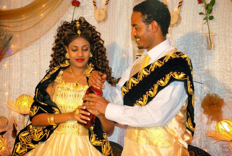 Ethiopian Wedding Dress