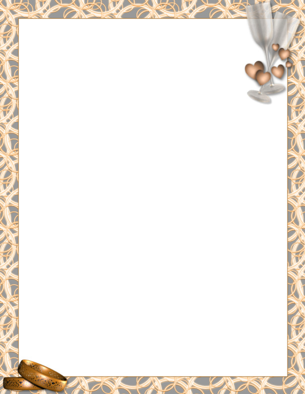 Picture Frame Wedding Invitations