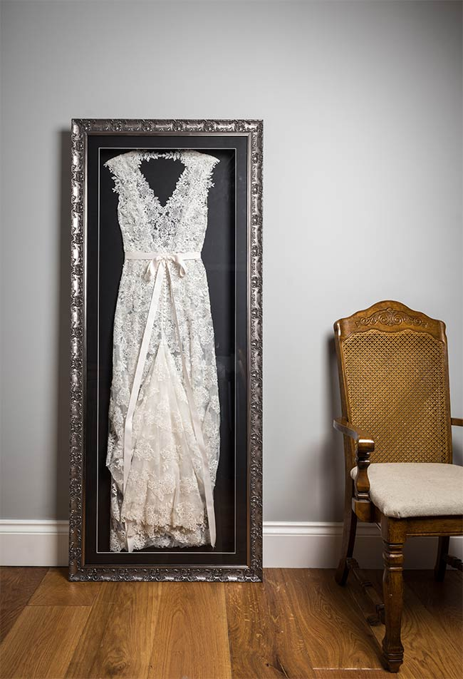 Frame Your Wedding Dress | Midway Media