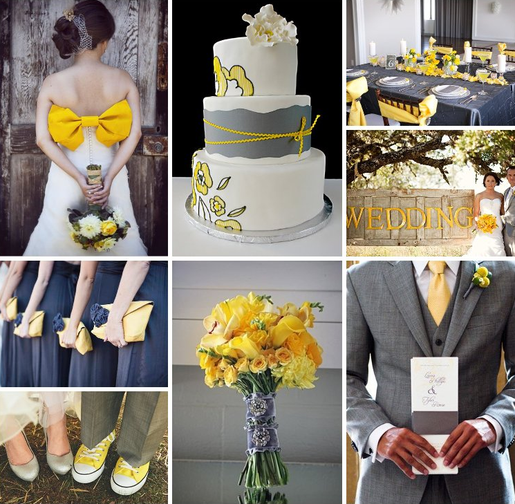 Grey Nd Yellow Wedding Colors – Emasscraft.org