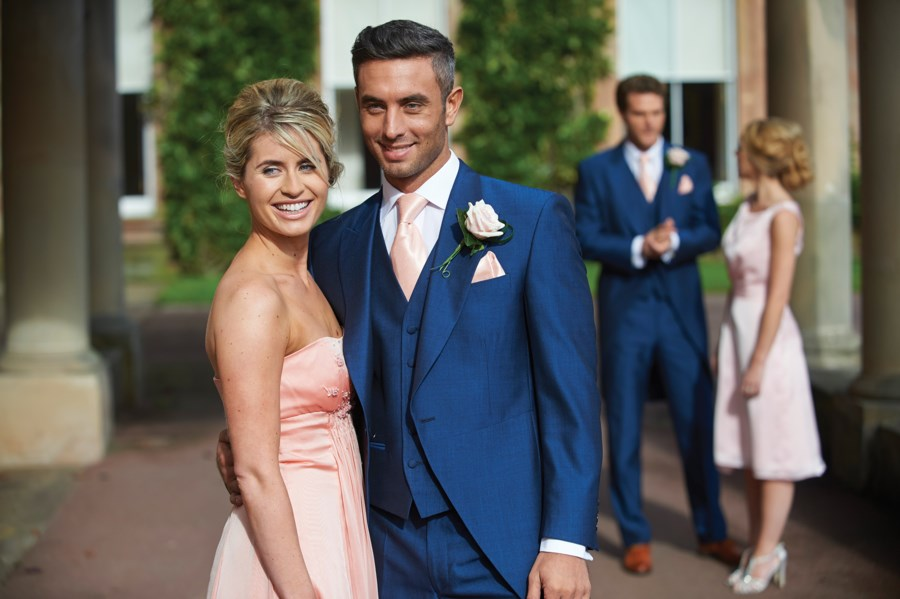 Blue Suit To A Wedding | Wedding Tips and Inspiration