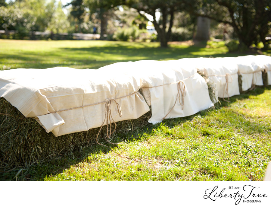 Hay Bale Covers For Wedding
