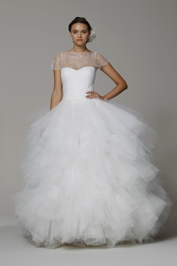 Adding tulle sleeves to wedding dress wedding tips and for Adding cap sleeves to a wedding dress
