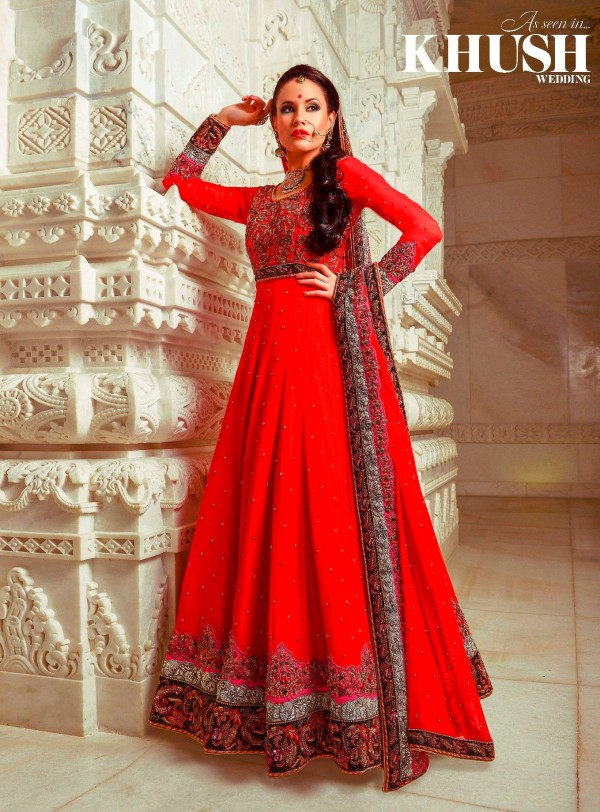 Indian style wedding dress for Wedding dresses indian style