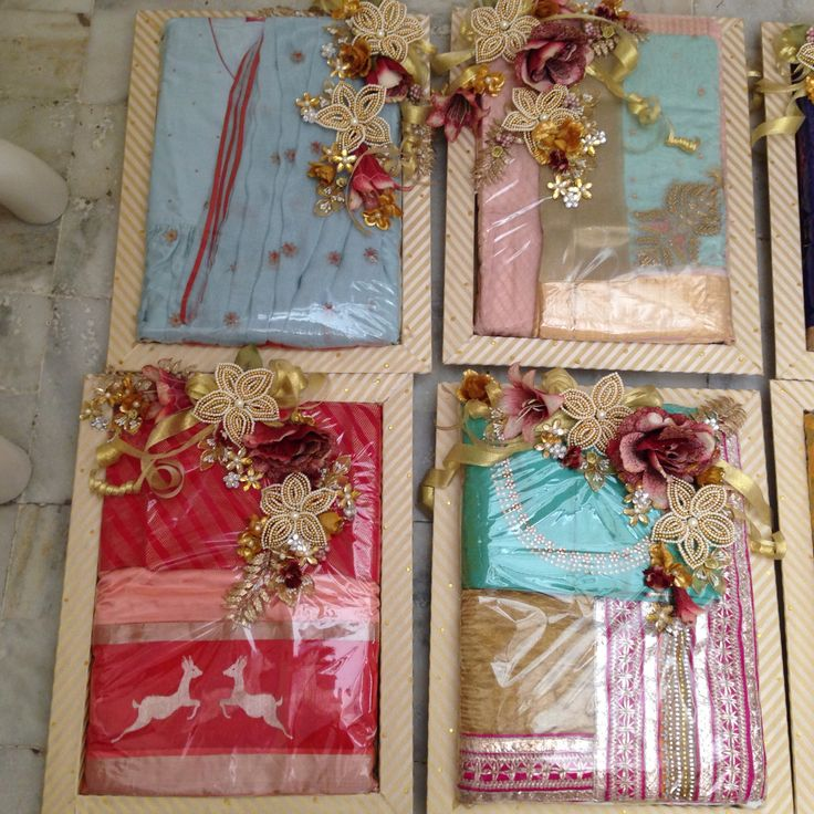 Indian Wedding Gifts: Indian Wedding Gift Packing Ideas