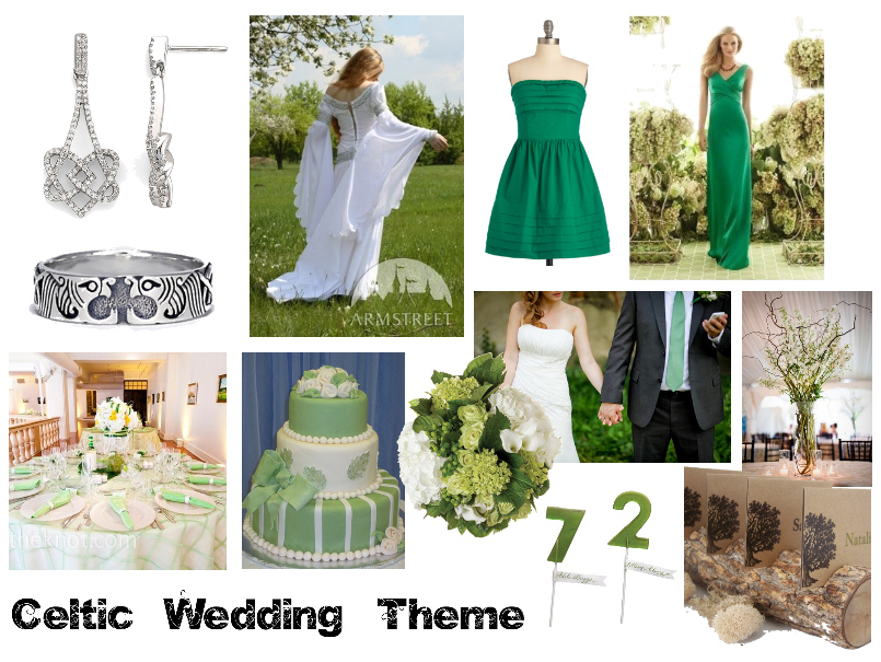 irish wedding decorations themed wedding 5172