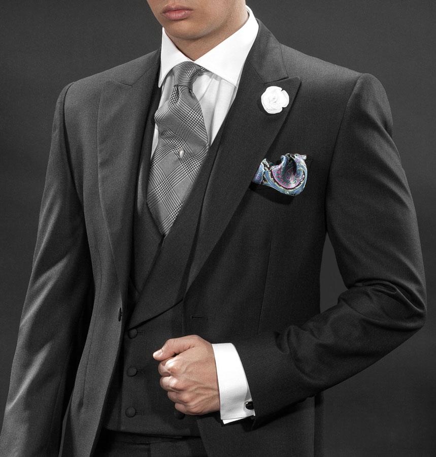 Charcoal Wedding Suit