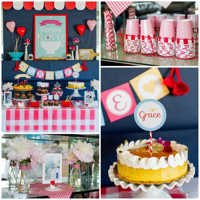 Kitchen shower decorations home decorating ideas for Kitchen craft baking supplies