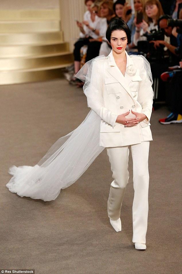 Ladies White Trouser Suit Wedding