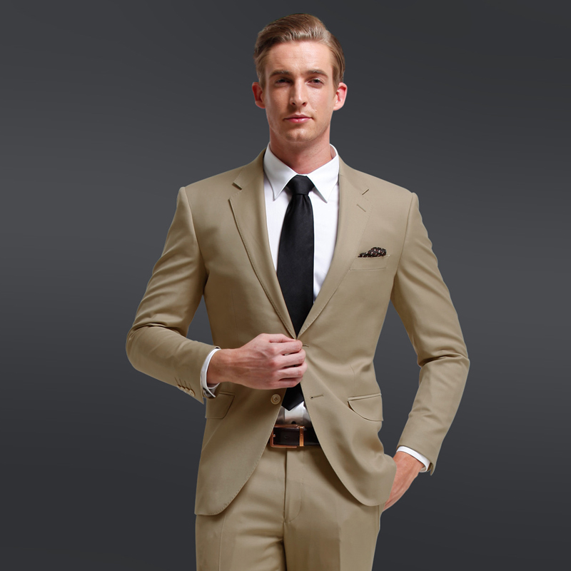Khaki Suit For Wedding | Wedding Tips and Inspiration